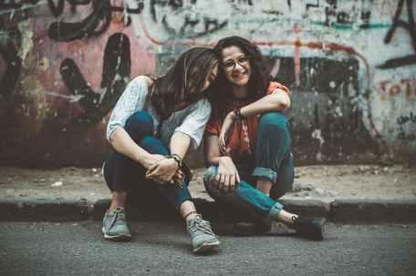 cute friendship fun girl